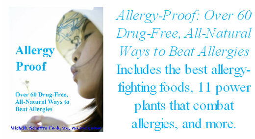 Allergy-Proof e-book by best-selling author Dr. Michelle Schoffro Cook