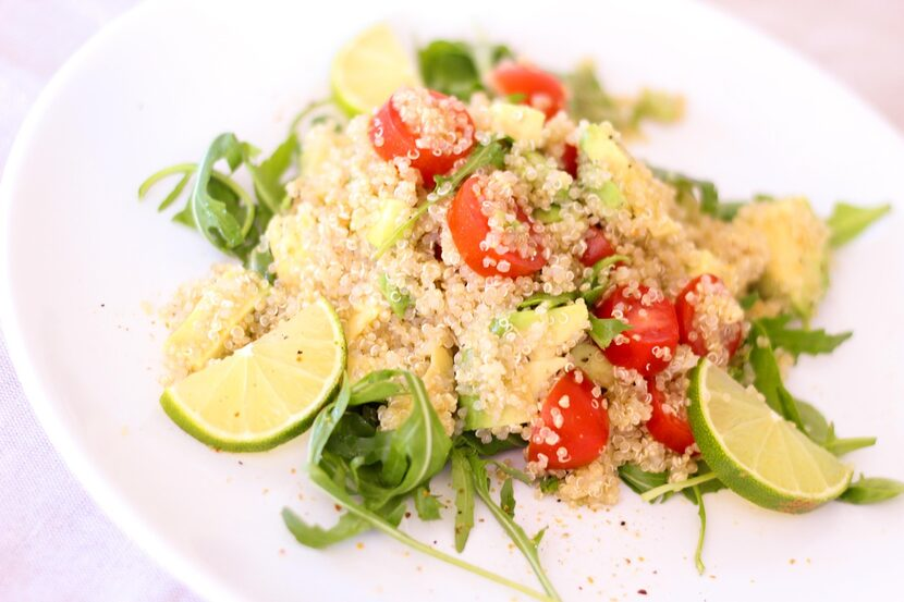Quinoa is a delicious high protein gluten free grain