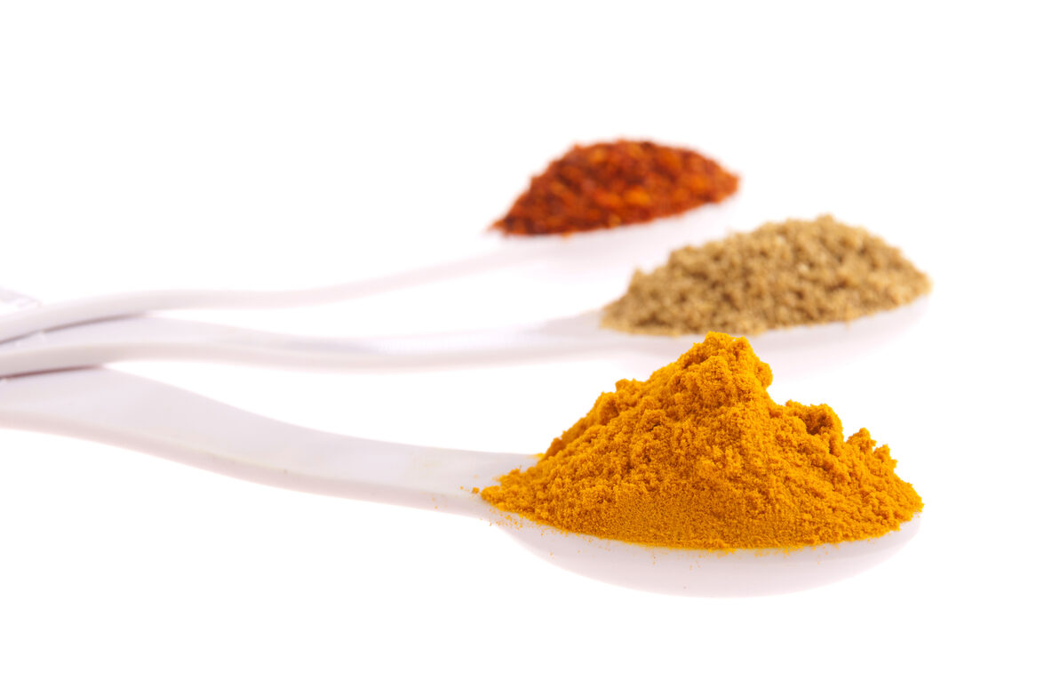 Turmeric has been shown to reduce free radicals and inflammation.